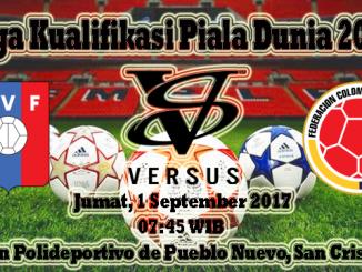 Prediksi Bola Akurat Venezuela vs Kolombia