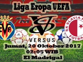 Prediksi Hari Ini Villarreal VS Slavia Praha