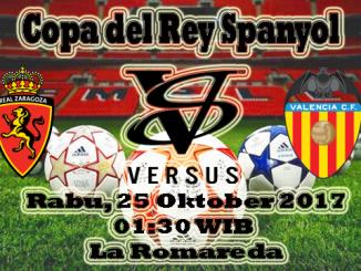 Prediksi Jitu Real Zaragoza VS Valencia