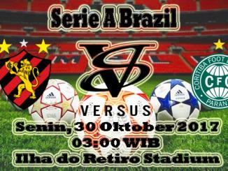 Prediksi Skor Bola Sport Recife VS Coritiba