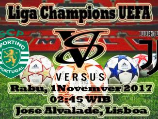 Prediksi Skor Bola Sporting CP VS Juventus