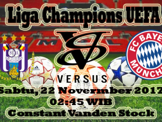 Prediksi Skor Bola Anderlecht VS Bayern Munchen