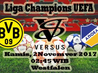 Prediksi Skor Bola Borussia Dortmund VS APOEL
