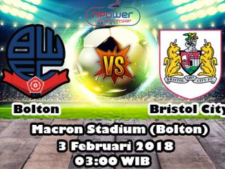 Prediksi Bola Jitu Bolton Wanderers vs Bristol City