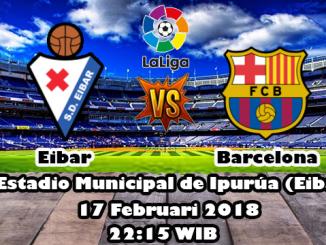 Prediksi Skor Bola Eibar vs Barcelona