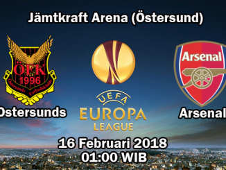 Prediksi Skor Jitu Ostersunds FK vs Arsenal