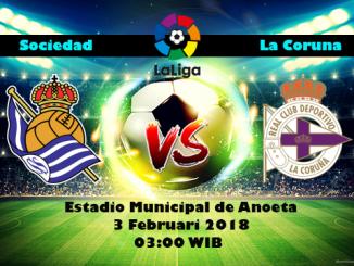 Prediksi Bola Jitu Real Sociedad vs Deportivo La Coruna