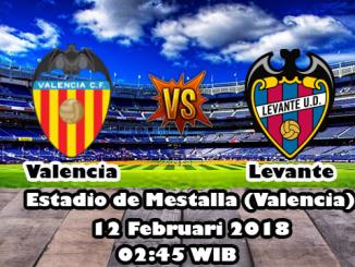 Prediksi Skor Akurat Valencia vs Levante