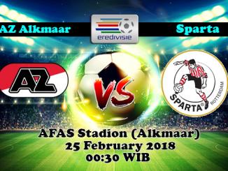 Prediksi Skor Akurat AZ Alkmaar vs Sparta Rotterdam