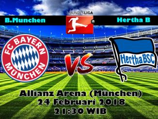 Prediksi Skor Akurat Bayern Munchen vs Hertha BSC