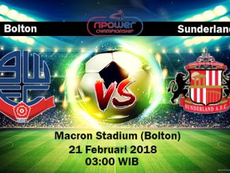 Prediksi Skor Bola Bolton Wanderers vs Sunderland