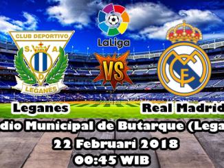 Prediksi Skor Bola Leganes vs Real Madrid