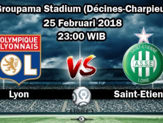 Prediksi Skor Akurat Olympique Lyonnais vs Saint Etienne