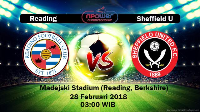 Prediksi Skor Akurat Reading vs Sheffield United