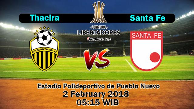 Prediksi Bola Jitu Deportivo Tachira vs Santa Fe
