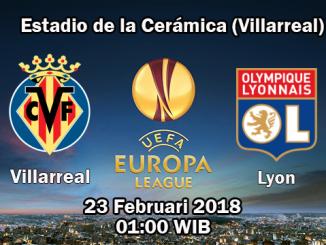 Prediksi Skor Akurat Villarreal vs Olympique Lyonnais