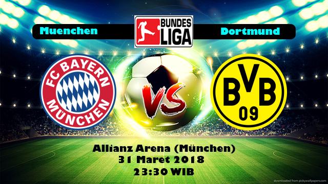 Prediksi Skor Bola Bayern Munchen vs Borussia Dortmund