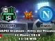 Prediksi Bola Asia Sassuolo vs Napoli