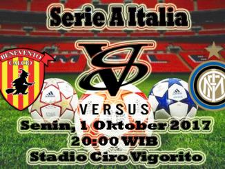 Prediksi Bola Menang Benevento VS Inter Milan