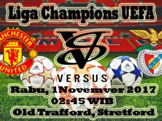 Prediksi Skor Bola Manchester United VS Benfica