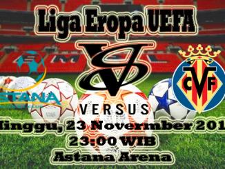 Prediksi Skor Bola Astana VS Villarreal