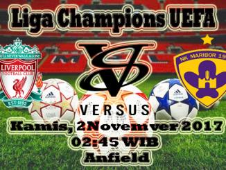 Prediksi Skor Bola Liverpool VS Maribor