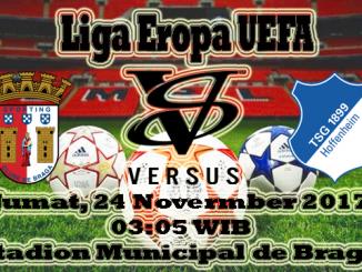 Prediksi Skor Bola Sporting Braga VS Hoffenheim