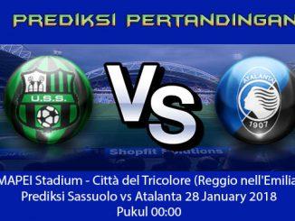 Prediksi Bola Sassuolo vs Atalanta
