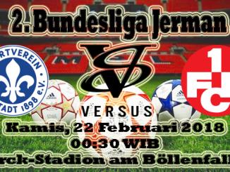 Prediksi Skor Bola Darmstadt 98 vs Kaiserslautern
