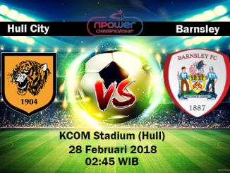 Prediksi Skor Akurat Hull City vs Barnsley