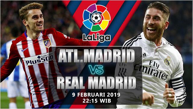 Prediksi Atletico vs Real Madrid